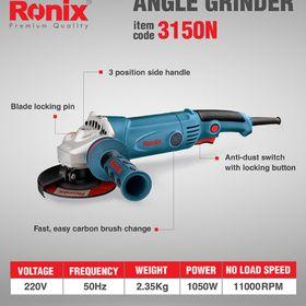 Máy mài tay cầm đuôi dài Ronix 3150N 1050W 115mm giá sỉ
