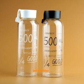 Bình Nước Nhựa Có Quai 500ml Q011