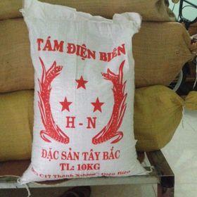 Gạo tám thơm Điện Biên giá sỉ