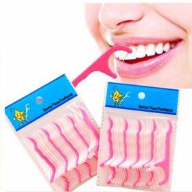 Chỉ nha khoa tăm xỉa răng bịch 25 cây giá sỉ