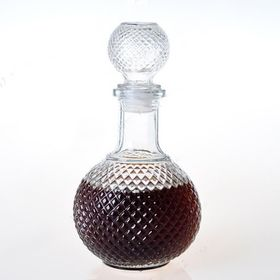 Chai thủy tinh chiết rượu tròn 750ml giá sỉ