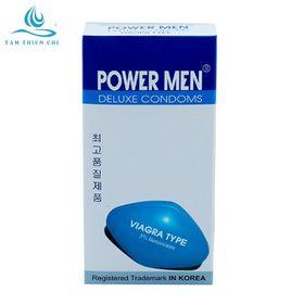 Bao cao su Powermen VIAGRA hộp 12 cái giá sỉ