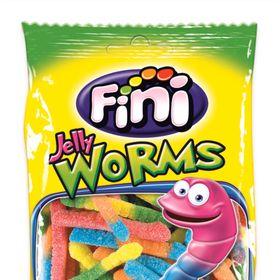 Kẹo dẻo FINI Fizzy Worms (Sâu chua) 100g giá sỉ