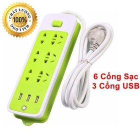 Ổ Cắm 6 Phích USB giá sỉ
