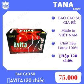 Bao cao su giá rẻ AVITA 120 chiếc giá sỉ