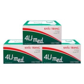 Khẩu trang y tế cao 4U-Med. giá sỉ