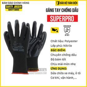 Găng tay chống dầu nhớt cho sửa chữa ô tô, xe máy, chống cắt cấp độ 1 Jogger Superpro giá sỉ