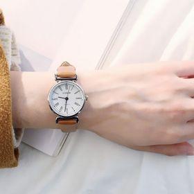 Đồng hồ nữ mặt tròn la mã và số giá sỉ