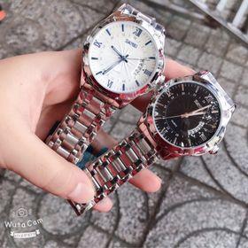 Đồng hồ nam Skmei silver giá sỉ