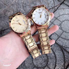 Đồng hồ nam Skmei gold giá sỉ