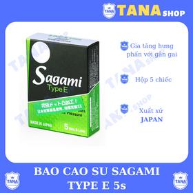 Bao cao su Sagami Type E giá sỉ