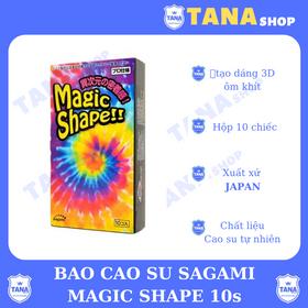 Bao cao su Sagami Magic shape giá sỉ