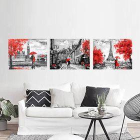 Khung tranh Canvas Red Love TPD-183 giá sỉ