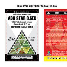 Ốc chúa -450ml ( Abamectin 3.6 G/ lít) giá sỉ