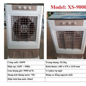 QUẠT HƠI NƯỚC 70L Model XS-9000 MÔ TƠ 100% ĐỒNG NGUYÊN CHẤT giá sỉ