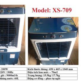 QUẠT HƠI NƯỚC 60L Model XS-709 MÔ TƠ 100% ĐỒNG NGUYÊN CHẤT giá sỉ