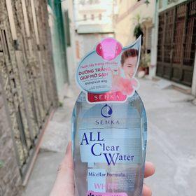 nước tẩy trang senka all clear water perfect whip 230ml giá sỉ
