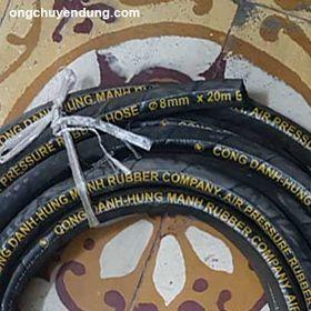 Ống cao su bố vải phi 8 Công Danh Hùng Mạnh giá sỉ