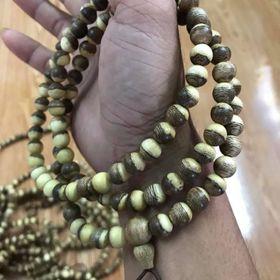 Chuỗi 108 hạt Trầm Hương Âm Dương giá sỉ