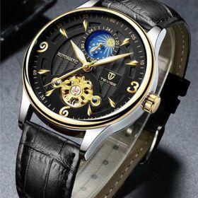Đồng hồ cơ Tevise T820b black giá sỉ