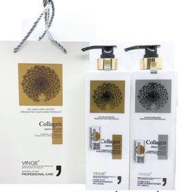 Bộ dầu gội + xả Collagen 1lit, hương cực thơm giá sỉ