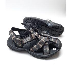 Giày sandal nam đi phượt bít mũi màu camo - rằn ri SS017 giá sỉ