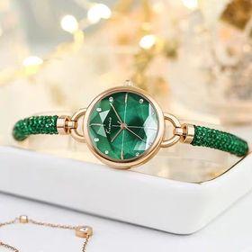 Đồng hồ nữ thời trang KIMIO 6328 dây rút đá pha lê giá sỉ