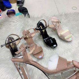 Giày cao gót sandanl trong