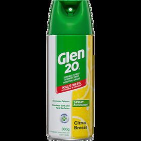 Bình xịt Glen 20 diệt khuẩn, Virus 99,99% (Hương Cam, Quýt) giá sỉ