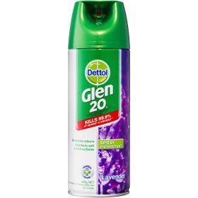 Bình xịt diệt vi khuẩn, virus Dettol Glen 20 Surface Spray Lavender (300g) giá sỉ