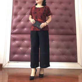 Bộ quần phối áo chất đẹp size 345 giá sỉ