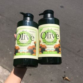 Combo 2 chai dầu gội và dầu xả olive 800ml giúp tóc mềm mại và ẩm mượt giá sỉ