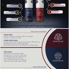 Xịt khử mùi kháng khuẩn Mon Coeur - Hương nước hoa cao cấp giá sỉ