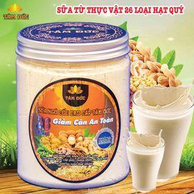 Sữa Ngũ Cốc Tâm Đức Giảm Cân An Toàn 26 Loại Hạt (Hộp 500gr) giá sỉ