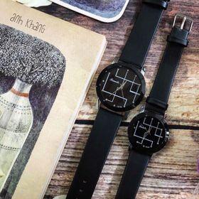 Đồng hồ dây da cặp nam nữ TIMELE giá sỉ
