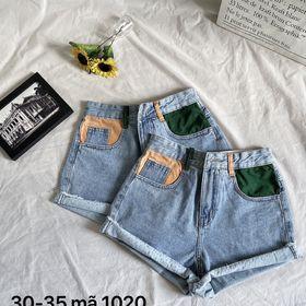 Quần short nữ jean size đại MS1020 giá sỉ