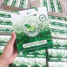 Cà phê xanh kháng mỡ Thiên Nhiên Việt - hộp 10 gói giá sỉ