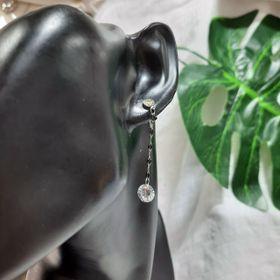 Bông tai inox tòn ten diamond giá sỉ