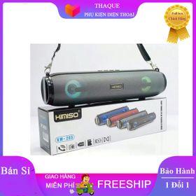 Loa bluetooth stereo KIMISO KM-203 TWS kết nối cùng lúc 2 loa - có đèn giá sỉ