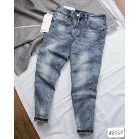 Quần jean nam xanh cào nhẹ kho chuyên sỉ jean nam nữ 2Kjean giá sỉ