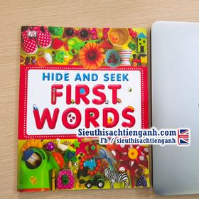 Sách Hide and seek First Words- A4