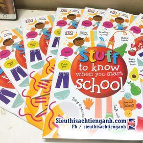 Sách Stuff to Know When You Start School – DK