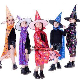 Bán sỉ Mũ và Choàng phù thủy hóa trang halloween giá sỉ