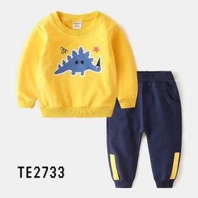 Bộ thun cá sấu khủng long bé trai TE2733 giá sỉ