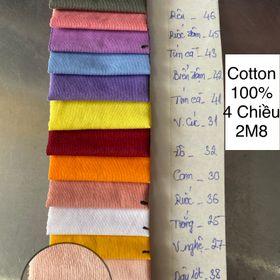VẢI COTTON 100% 4 CHIỀU CM30 giá sỉ