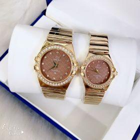 Đồng hồ đôi có lịch OMEGA giá sỉ