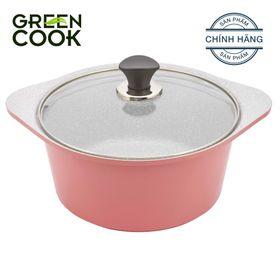 Nồi đúc chống dính Ceramic 16cm Greencook GCS02-16 giá sỉ