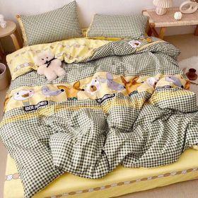 Bộ chăn Ga Gối Cotton Korea NS990 giá sỉ