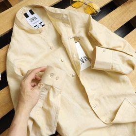 áo sơ mi màu giản dị giá sỉ