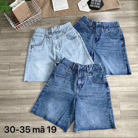 Quần ngố jean nữ size đại Ms19 kho chuyên sỉ jean 2KJean giá sỉ